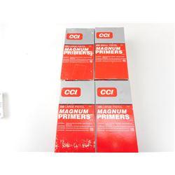 CCI 350 LARGE PISTOL MAGNUM PRIMERS, 550 SMALL PISTOL MAGNUM PRIMERS