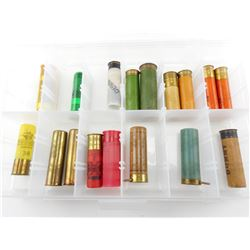 COLLECTION OF SHOTGUN SHELLS, INCLUDING PAPER, BRASS, PIN FIRE