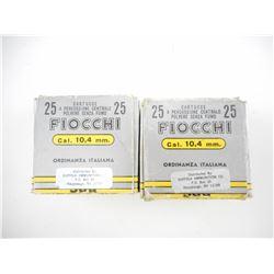 FIOCCHI 10.4MM ITALIAN AMMO