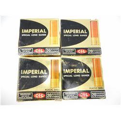 "IMPERIAL 20 GAUGE 2 3/4"" SHOTGUN SHELLS"