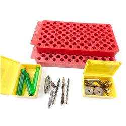 LOADING TRAYS, ASSORTED RELOADING TOOLS