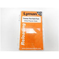 LYMAN TRIMMER PILOT MULTI-PACK