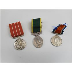 REPRODUCTION CANADIAN/ BRITISH MEDALS