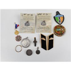 ASSORTED MILITARY BADGES