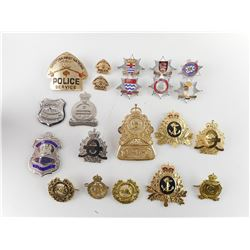 POLICE/FIRE ASSORTED BADGES