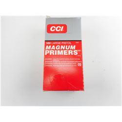 CCI-350 LARGE PISTOL MAGNUM PRIMERS