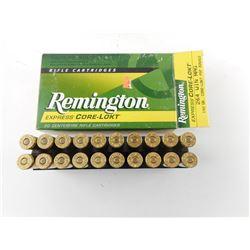 REMINGTON EXPRESS CORE-LOKT  264 WIN MAG CENTERFIRE CARTRIDGES
