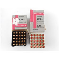 LELLIER & BELLOT 6.35MM BROWNING AMMO