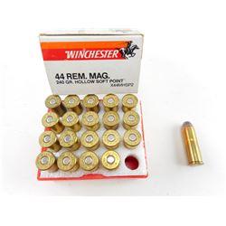 WINCHESTER SUPER-X 44 REM MAG AMMO