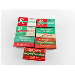 ASSORTED REMINGTON .22 LONG RIFLE AMMO