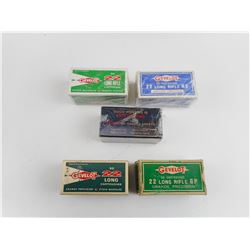 ASSORTED GEVELOT .22 LONG AMMO
