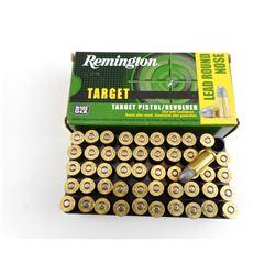REMINGTON TARGET .38 S&W PISTOL/REVOLVER AMMO