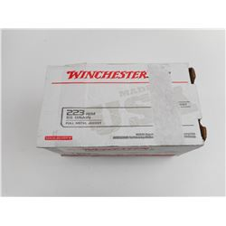 WINCHESTER .223 REM AMMO