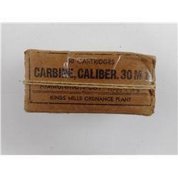 .30 M1 CARBINE AMMO