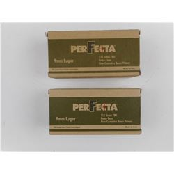 PERFECTA 9MM LUGER AMMO