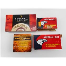 AMERICAN EAGLE 9MM LUGER, FEDERAL 308 WIN,  AMERICAN EAGLE 223 REM, FUSION 209 IN-LINE PRIMERS