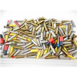 38/357 ASSORTED AMMO, INCLUDING SHOT, AMMO, PLASTIC BULLETS, ETC