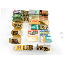 22 SHORT ASSORTED AMMO, INCLUDING REMINGTON & PETERS CHICKLET BOXES