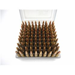 223 REM ASSORTED AMMO IN PLASTIC AMMO BOX