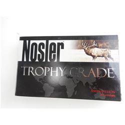 NOSLER TROPHY GRADE 26 NOSLER AMMO