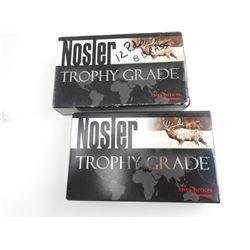 NOSLER TROPHY GRADE 26 NOSLER AMMO, BRASS