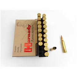 HORNADY 7MM WBY MAG AMMO, BRASS CASES