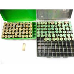 45 AUTO RELOADED AMMO, IN PLAST MTM AMMO BOXES