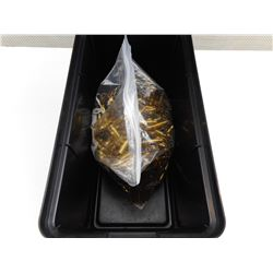 223 REM BRASS CASES IN PLANO PLASTIC AMMO BOX
