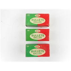 CIL .308 DIA BULLETS, 150 GRNS, 180 GRNS, PSP, CFE