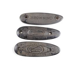 FN-BROWNING BUTTPLATE LOT