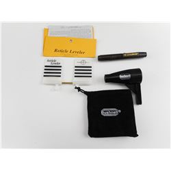 BUSHNELL MAGNETIC BORE SIGHTER AND ACCESSORIES
