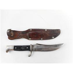VINTAGE GERMAN RUKO KNIFE WITH SHEATH
