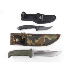 BUCK KNIFE W/SHEATH, WINCHESTER KNIFE W/SHEATH