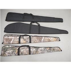 BLACK SOFT RIFLE CASES, CAMO SOFT RIFLE CASES