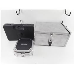 METAL LOCK BOX AND HAND GUN CASES