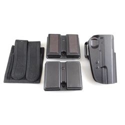 HOLSTER AND MAGAZINE POUCHES FOR 1911 PISTOL