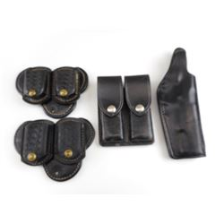 LEATHER HOLSTERS AND POUCHES
