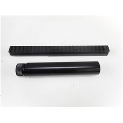 TACTICAL RIFLE RISER AND BARREL WEIGHT