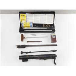 STAG GUN CLEANING KIT, CLEANING PATCHES, CLEANING TOOLS, PELLET GUN PARTS