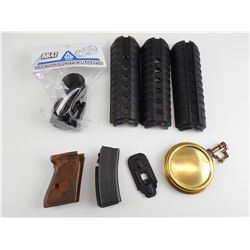 MISC WALTHER, AK-47, M4 PARTS LOT