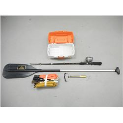 ASSORTED FISHING ACCESSORIES