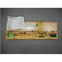 WOJF 6.5X55 SUB CALIBER KIT IN WOOD CASE