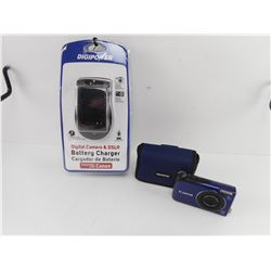 CANON POWER SHOT A2200 CAMERA AND DIGIPOWER BATTERY CHARGER