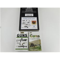 GUNS RECOGNITION GUIDE, JANE'S INFANTRY WEAPONS 24TH EDITION