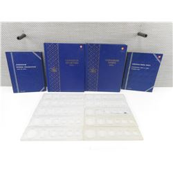 CANADIAN/US COINS COLLECTIONS, PLASTIC COIN PROTECTOR/DISPLAYS