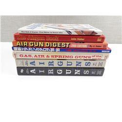 AIRGUN ASSORTED BOOKS