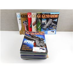 GUNS AND AMMO MAGAZINES