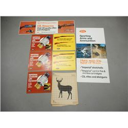 ASSORTED CIL ADVERTISING AND PAPER TARGETS