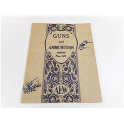 GUNS AND AMMUNITON, NO.52 CATALOG