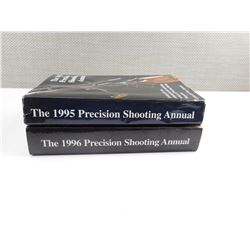ASSORTED LOT OF BOOKS - PRECISION SHOOTING ANNUALS